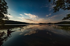 Dreamscape (clemensgilles) Tags: dreamscape calm reflecting moonlight moonshine sternenhimmel astrofotographie nightphoto night nachtfotografie lakeside lake see eifel germany beautiful