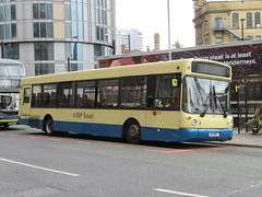 MP Travel 717 (W17MPT) 21072018a (Rossendalian2013) Tags: mptravel bus manchester victoria railway station railreplacement northern arrivarailnorth volvo b10ble alexander alx300 w417jat w17mpt eyms eastyorkshiremotorservices finglands whittle