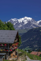 (Alain Bachellier) Tags: beaufortain chalet facesud montblanc montagne moutain paysdumontblanc