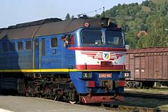 Engine driver and his massive engine, RAKHIV (Rostam Novák) Tags: 2m621001 y3 2m62 rakhiv ukraine sergej engine driver