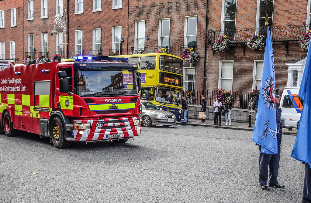 NATIONAL SERVICES DAY [PARADE STARTED OFF FROM NORTH PARNELL SQUARE]-143588