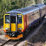 156 403 south of Whatstandwell heading for Derby, 25 March 2016 thumbnail