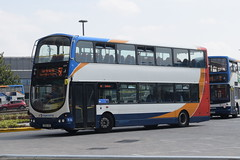 SEM 16941 @ Lincoln bus station (ianjpoole) Tags: stagecoach east midlands volvo b7tl wright eclipse gemini fx06aoc 16941 working route 56 lincoln bus station skegness