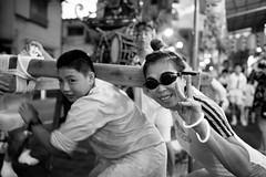 Mizukake festival in Tokyo - 1 (Bernard Languillier) Tags: japan tokyo shinagawa d5 水かけ祭 東京