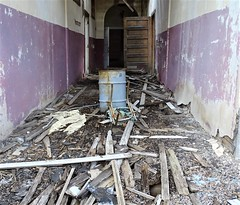 90418-030, Totally Unsafe Cedarvale School (skw9413) Tags: newmexico abandonedschool