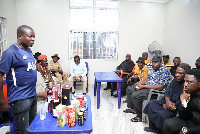 HSDickson- Meeting at Angiama after the death of LATE MRS GOLDCOAST DICKSON (MAMA G0G0) 1946-2018