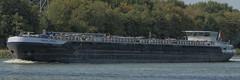 Rojas (Mark A.H.) Tags: rojas ship vessel schip binnenvaart rilland netherlands nederland schelderijnkanaal 9484120 02333567 inland tanker 244700884 pb8229 nl 2010 scheldt–rhine canal tree boom water flag vlag