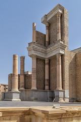 Columns (brentus69) Tags: europe spain cartagena ancient historic theater amphitheater romantheater museum restored