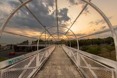 To the sunset (enrique.torrens) Tags: sunset atardecer cáceres extremadura españa spain nubes sol sun clouds calle street nikon d3200 sigma 1020 urban urbana