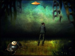 Under different skies (bdira3) Tags: different planet strange environment ufo man eyed egg gigantic insect atmospheric