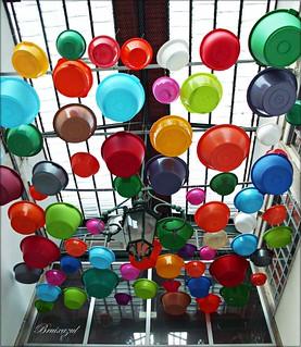 Colores de plástico