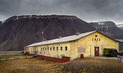 1972 (RWYoung Images) Tags: rwyoung olympus em1mk11 svalbard pyramiden factory abandoned empty building arctic yellow