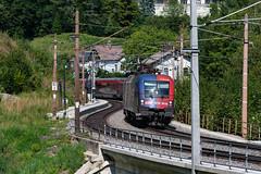 sem_180829_12 (Prefektionist) Tags: 1116 80200mmf28d austria bahn d700 es64 eisenbahn loweraustria niederösterreich nikon oebb rail railroad railway semmering semmeringbahn siemens taurus train trains wolfsbergkogel öbb österreich