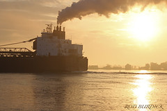 jrb9418stnstm_rb (rburdick27) Tags: sunrise steam jamesrbarker interlake interlakesteamshipcompany stclairriver scenicmichigan