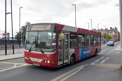 Warrington's Own Buses DK07FWH (Mike McNiven) Tags: warringtonsownbuses warrington networkwarrington wright cadet altrincham interchange trafford cheshirecat