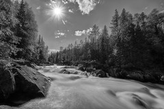 dangerous waters (Sergey S Ponomarev - very busy) Tags: sergeysponomarev canon eos 70d efs1018mmf4556isstm landscape paysage paesaggio landschaft summer august agosto lestate monochrome bw blackandwhite biancoenero bn rapids hdr highdynamicrange le longexposure stones rafting forest taiga strem trip adventure north nord arkhangelsk russia russie russland сергейпономарев природа пороги река кожа архангельск вода сплав рафтинг лес тайга монохром длиннаявыдержка россия камни падун kozha river 2018 август поход туризм