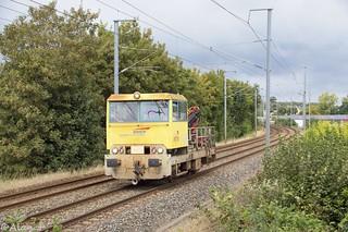 Draisine DU 84 - Train 817450 Quimper>Auray