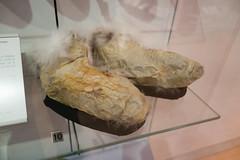 Inside out fur mocassin (quinet) Tags: 2017 aborigène canada firstnations indian kunst ontario rom royalontariomuseum toronto ureinwohner aboriginal art museum musée native 124