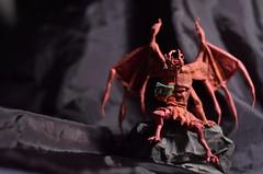 Demons Are a Girl's Best Friend (Nikita Vasiliev) Tags: paper paperart origami origamiart gargoil demon book naruto jiraiya ichaicha thànhhoàngtrung
