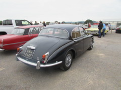 Jaguar 240 MWN444F (Andrew 2.8i) Tags: haynes motor museum breakfast meet sparkford yeovil somerset show classic classics cars car autos british saloon sedan mark 2 ii mk2 24 240 jaguar