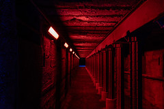 Red Tunnel (mbrinkhues) Tags: architektur duisburg eos80d industrie lapadu landschaftspark ruinen stativ tamron2470vc tunnelmöllerbunker