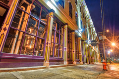 Morning Brew (tquist24) Tags: cleveland collisionblend hdr nikon nikond5300 ohio architecture brewery building city firehydrant geotagged light lights longexposure night sidewalk sky unitedstates
