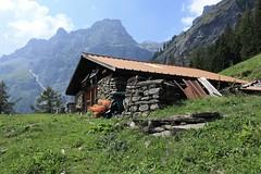 Langemo (bulbocode909) Tags: valais suisse langemo alpagedelangemo chalets montagnes nature paysages forêts arbres nuages vert bleu orange rocherdegagnerie groupenuagesetciel