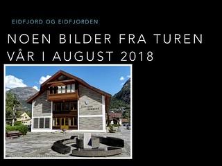 Eidfjord og Eidfjorden 2018