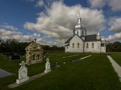 Spaca Moskalyk (Len Langevin) Tags: abandoned old church catholic ukrainian cemetery spaca moskalyk mundare alberta canada history nikon d7100 tokina 1116