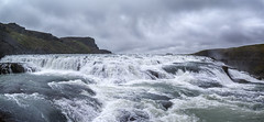 Power of Water (Alex Demich) Tags: river water waterfall iceland stream flow power rocks stones clouds sky wilderness nature outdoor tourism travel adventures panorama landscape white gray