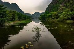 Ba Be (Rod Waddington) Tags: vietnam vietnamese ba be karst mountains lake water trees landscape nature reflection outdoor waterlilies