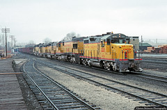 Mixed Motive Power (jamesbelmont) Tags: railroad railway emd gp20 u30c ge sd24b sd45 provo utah unionpacific