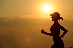 Endurance exercise female - Credit to https://homegets.com/ (davidstewartgets) Tags: endurance exercise female fit fitness girl health jog jogger run runner running silhouette sunrise sunset training woman