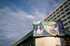 * (Sakulchai Sikitikul) Tags: street snap streetphotography summicron songkhla sony 35mm leica thailand hatyai a7s billboard