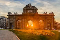 Puerta de Alcalá (v a n g e l i s) Tags: madrid spain regecarolo hdr travelphotography travel sun sunset instagood instamood instalifo athensvoice shotoftheday nikon nikonphotography nikoneurope nikongreece nikonspain nikond80 nikkor18135mm colors colorful eclecticshotz