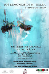 Visit (Mau Silerio) Tags: underwater photography invitation art exhibition arkansas university mauricio silerio artist gallery museum little rock usa america united states