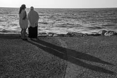 DSC_1624 (Dan_lazar) Tags: charlesclore telaviv israel beach shofar roshhashana jews sea sunset prayer bw bnw blackandwhite orthodox