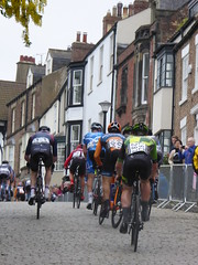 Climbing the hill once again (Steelywwfc) Tags: ovo energy tour series durham alex luhrs ribble pro cycling will brown ed clancy jlt condor alfie george spokes racing team james ireson morvelo basso matt clarke wheelbase castelli julio amores vitus john archibald mattia viel holdsworth south street