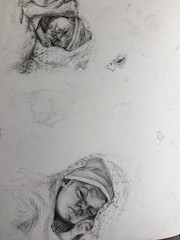 New born (M34D0WS) Tags: drawing pencil art detailed human baby