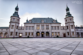 Baroque castle - Bishop's Palace in Kielce - Poland