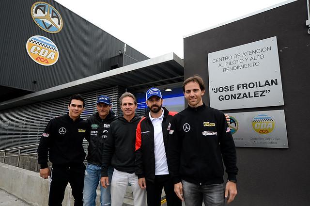 15/08/18 - Pilotos da Copa Truck visitam centro de treinamento de piloto de alto rendimento argentino - Fotos: Duda Bairros