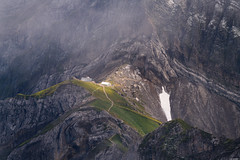Rotsteinpass (Rico the noob) Tags: 2018 rock d850 landscape nature outlook switzerland outdoor stones rocks published dof snow schweiz grass house saentis 70200mm fog clouds mountains 70200mmf28 mountain