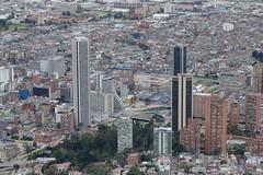 Bogotá vista desde Monserrate (Gerardo Mejía Enciso) Tags: bogotá colombia zipaquirá monserrate museo nacional catedral sal iglesia cascada paisaje agua latinoamerica