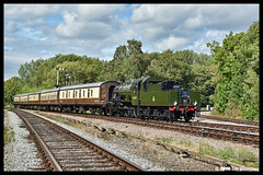 No 46521 9th Sept 2018 Great Central Railway Diesel Gala (Ian Sharman 1963) Tags: no 46521 9th sept 2018 great central railway diesel gala class 2mt 260 steam station engine rail railways train trains loco locomotive passenger gcr loughborough leicester north swithland the elizabethan