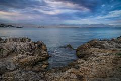 entre terre et mer (harakis picture) Tags: paca cap dantibes sony a7 seascape landscape contactgroups greaterphotographers photosandcalendar