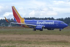 N958WN (LAXSPOTTER97) Tags: southwest airlines boeing 737 737700 n958wn cn 36673 ln 3661 aviation airport airplane kpdx