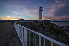 Red Storm at Wollongong Lighthouse (AshMashMash) Tags: pier australia nsw wollon wollongong lighthouse sky sunset seascape landscape