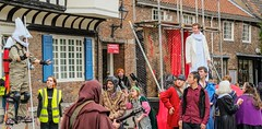 YMPST waggon play performance, College Green, 16 September 2018 - 14 (nican45) Tags: yorkmysteryplays2018 16september2018 16092018 18135 18135mm 2018 csc collegegreen fuji fujifilm mysteryplays nickansell september stwilliamscollege supporterstrust theharrowingofhell xt2 xf18135mmf3556rlmoiswr ymp ympst york yorkshire cast costumes mirrorless performance photographer photography waggon waggonplay wagon