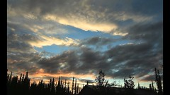 Night Falling (Katy on the Tundra) Tags: sunset timelapse video
