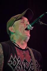 Fist! (slammerking) Tags: singer concert microphone nosering fist heavymetal